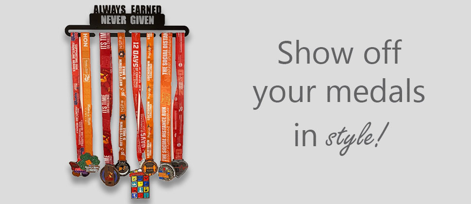 Show off your medals in style with a wee county medal hanger