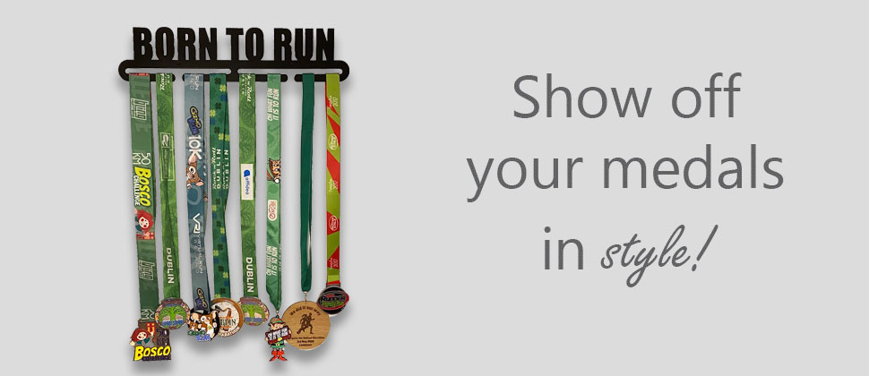 Show off your medals with an irish made medal hanger